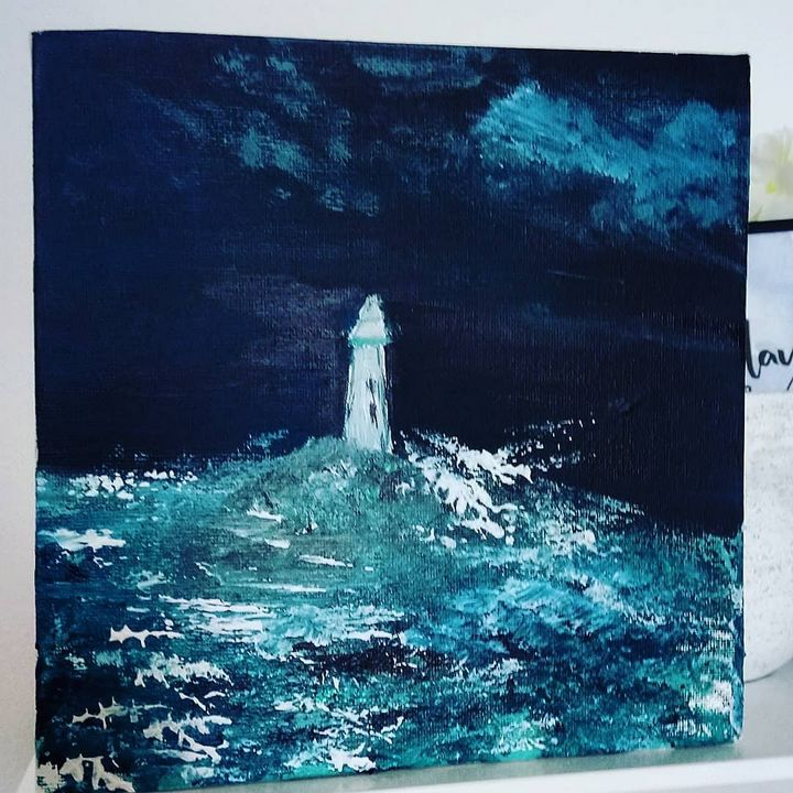 Light in the storm - Gigi Garas Art
