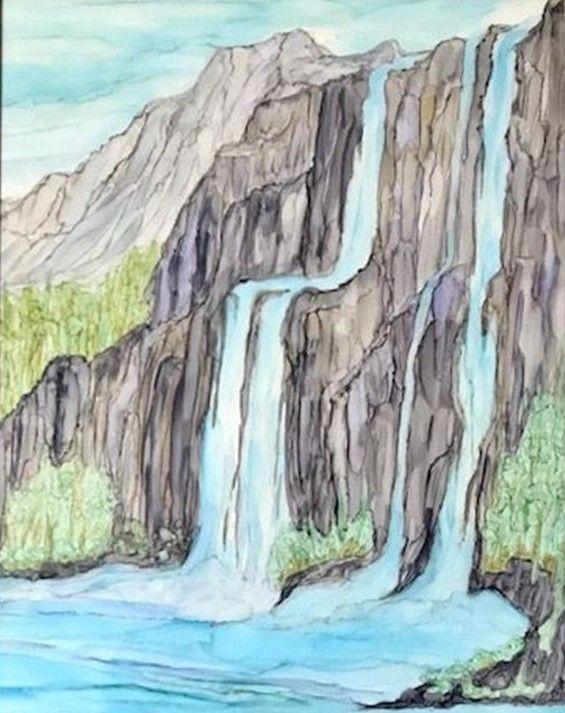 Waterfall - Wondering Star