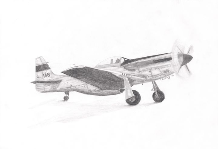 P-51 Pre-Flight - Josh Reeves
