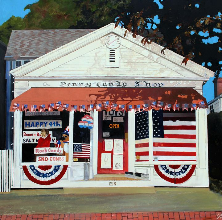 Penny Candy Store - Ken Vrana Art