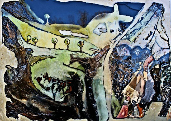 Crazy Horse II - Ken Vrana Art