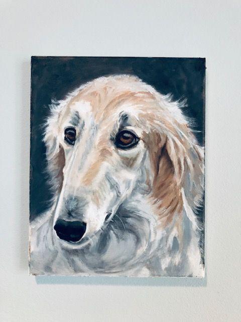 Lily the dog - ArtGal