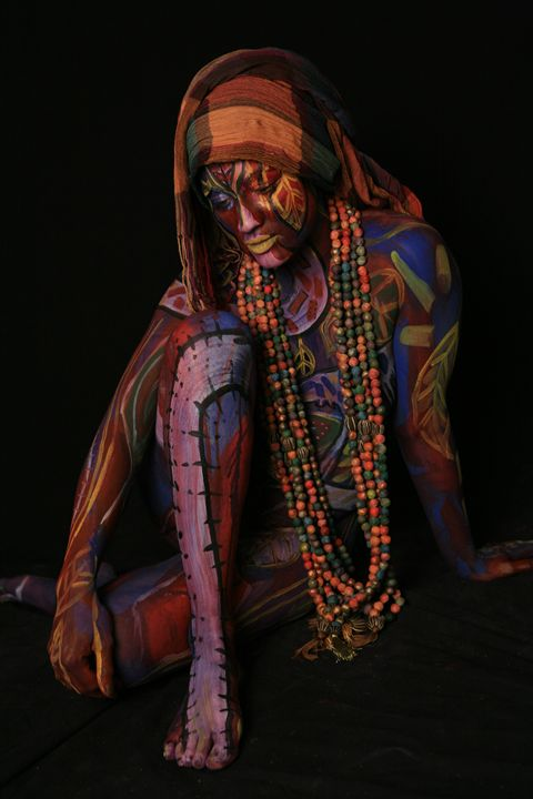 Stitched Beads - Contemporay African Art