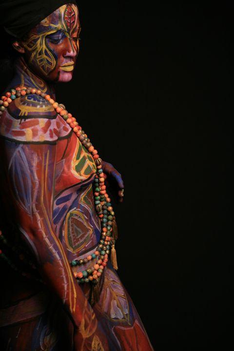 Blossum into Beads - Contemporay African Art