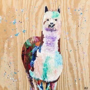 Al the Alpaca - Uptmore Artistry