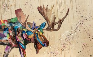 Mo the Moose - Uptmore Artistry