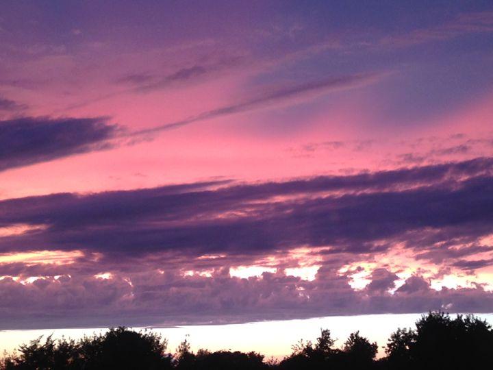 Pink Sunset - Mooi Art