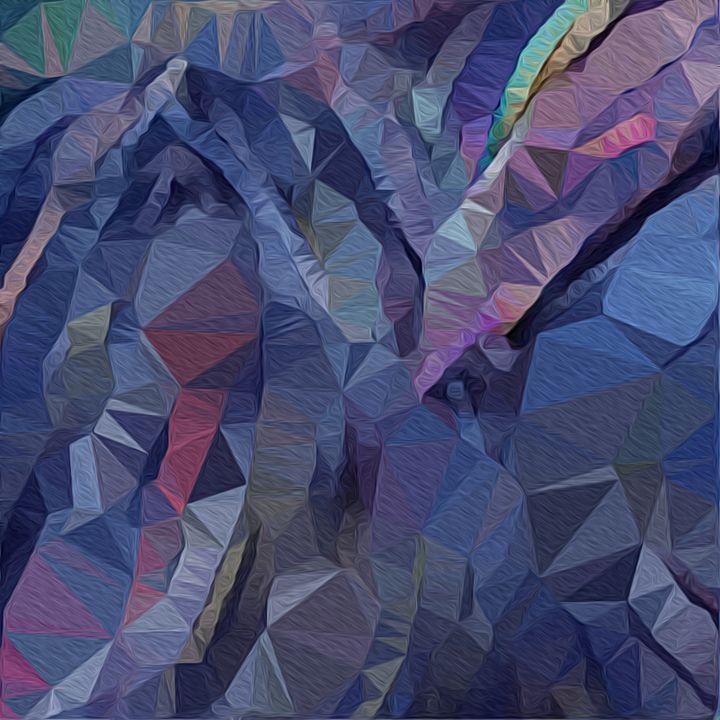 Flowing triangles of color - Pura Vida Visions