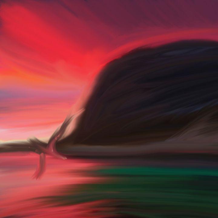 Whale at sunset - Pura Vida Visions