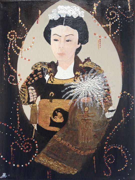 La Femme Samouraï - Nadége D'Amico Tihay