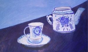 Still life- tea set