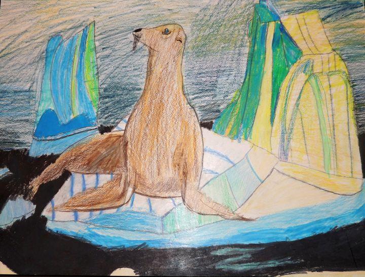 Sea lion - Kaitlyn