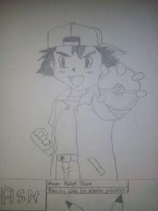 Ash (From Pokemon) !!! :) :)