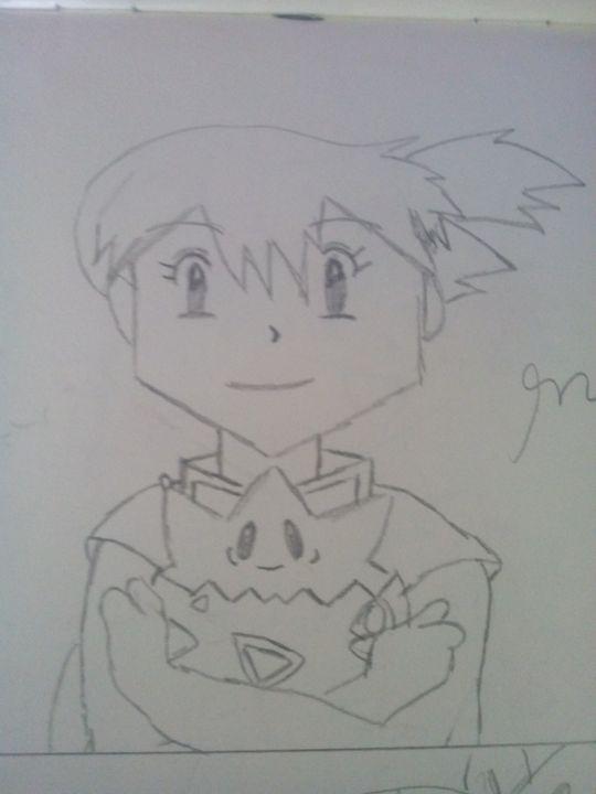 Misty (From Pokemon( !!! :) - Some Cartoon Sketches (By MaxBhatt92)