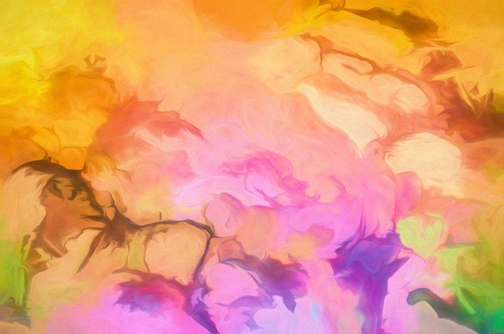 Desert Sun and Purple Bloom - Jill Nightingale
