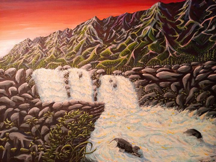 Enchanted Waterfall - Cedric X