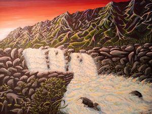 Enchanted Waterfall - Cedric Xavier Colond