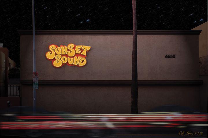 Sunset Sound - Bill Jonas Gallery