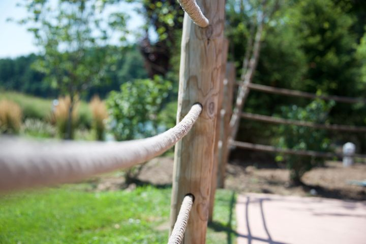 Roped Fence - Gallery A