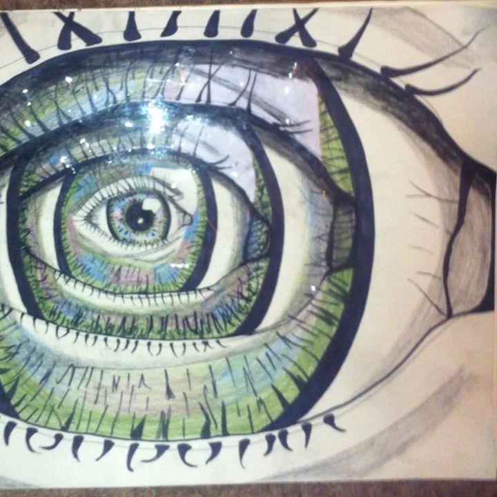 The all seeing eye - Indigo