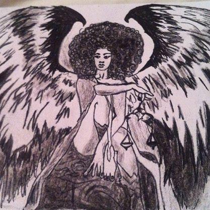 Black Angel - Indigo