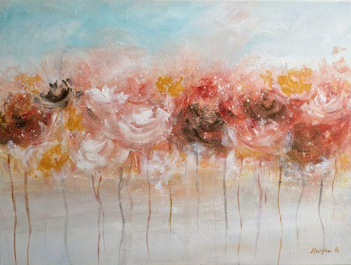 Foggy flowers - MarphaArt