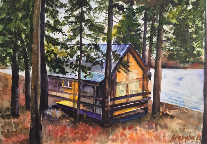 Dreamy autumn forest - MarphaArt
