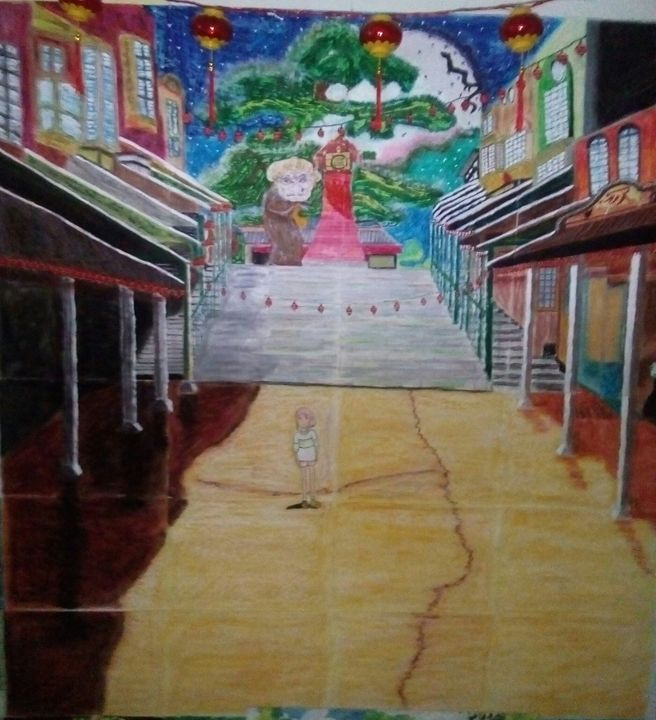 Chihiro's Spooky Night - Tim's Artworks