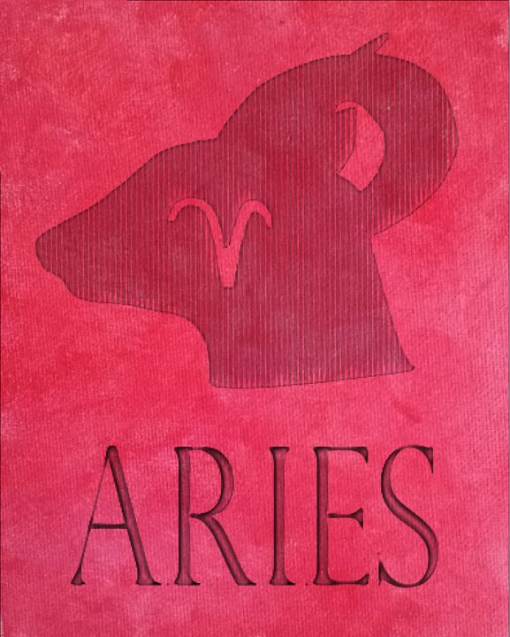 The sign of Aries - DVArtDesigns