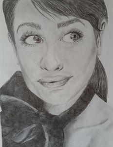 Lea Michele Protrait