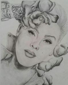 Portrait of P!nk