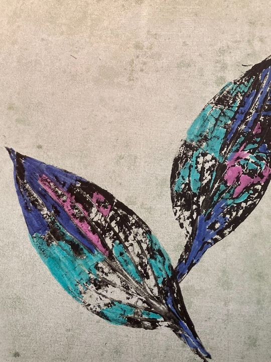 Leaves in Blue - TMK Studios