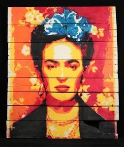 Frida Kahlo Yellow #2