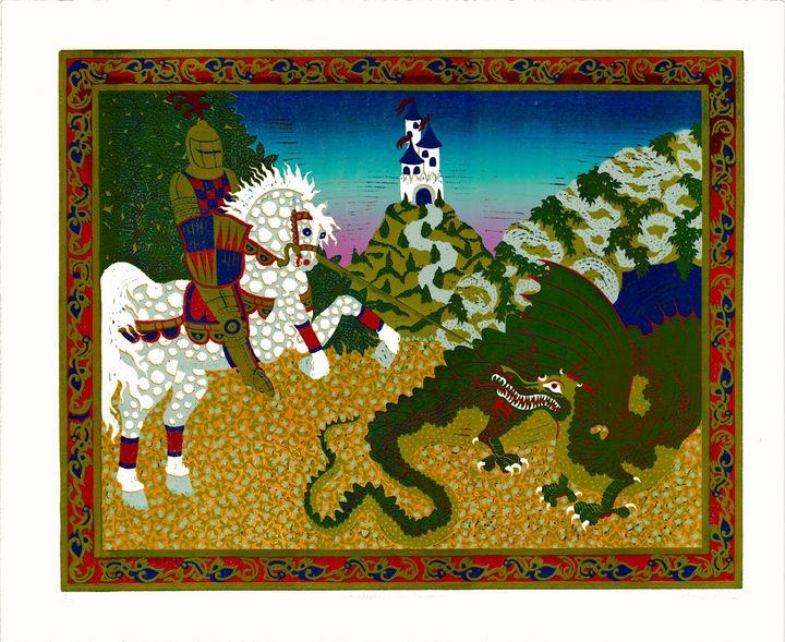 Saint George and the Dragon - POCHTECA