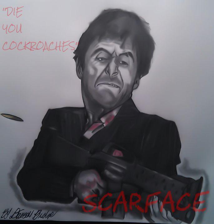 Scarface - Dave's Art