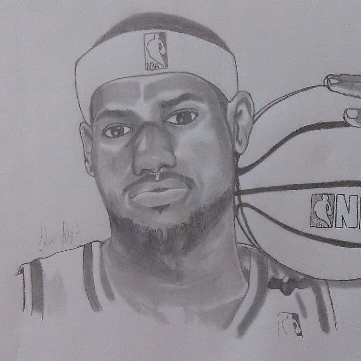Lebron James - Dave's Art
