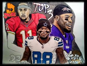 D jack, dez bryant and steve smith