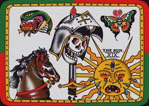 Medieval/Tarot Variety Sheet