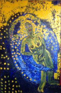 Sacred yellow - ronak moshiri