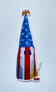 American flag kkk hood