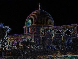 Jerusalem-Sakhra Masjid