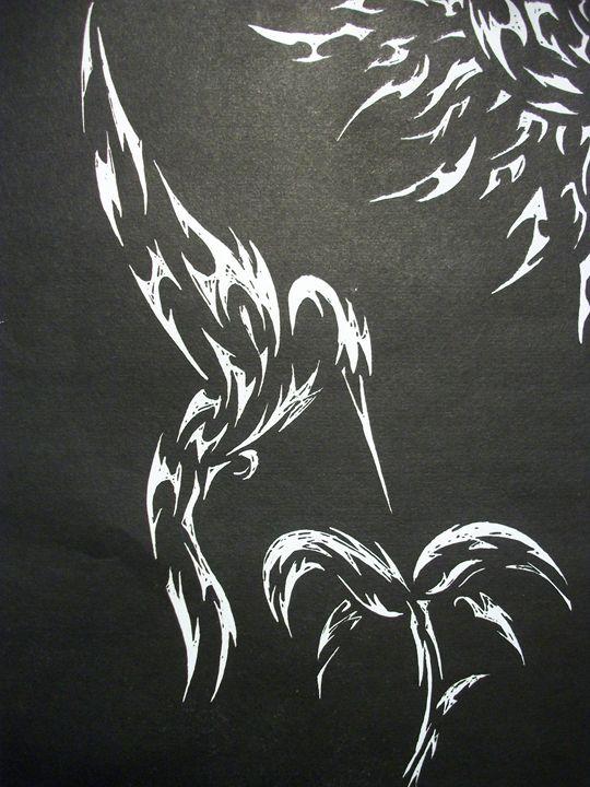 Tribal Hummingbird - Kyle's Tribal designs