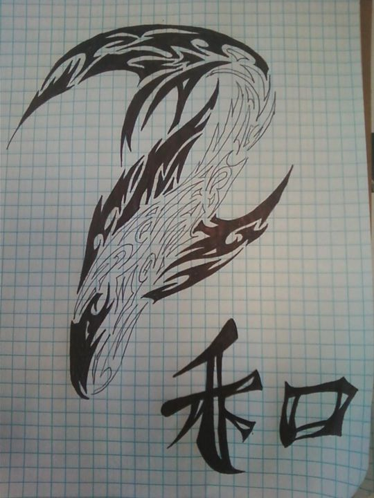 Tribal Fish - Kyle's Tribal designs