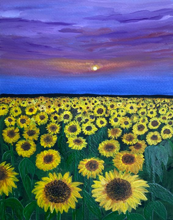 Sunflowers (Sold out) - Art Alesia