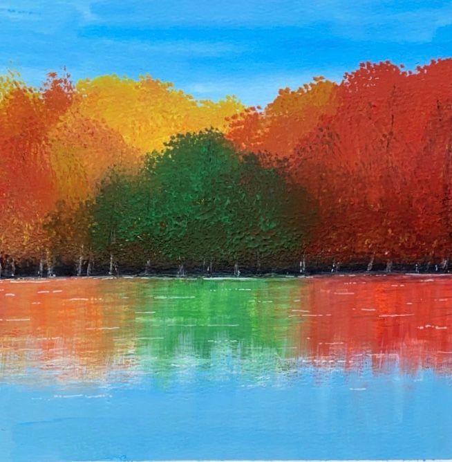 Fall In Botanical Garden - Art Alesia