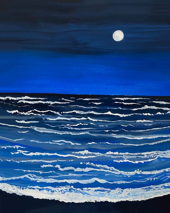 Midnight Blue (SOLD OUT) - Art Alesia