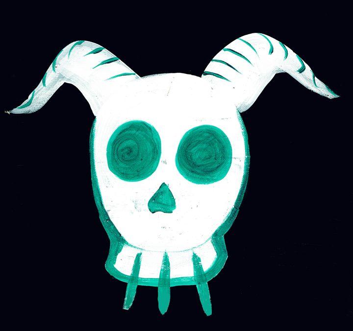 Skull(green) - JR. Gallery