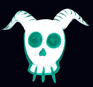 Skull(green)