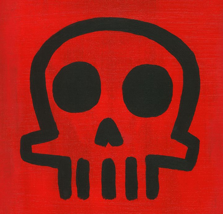Skull (red) - JR. Gallery