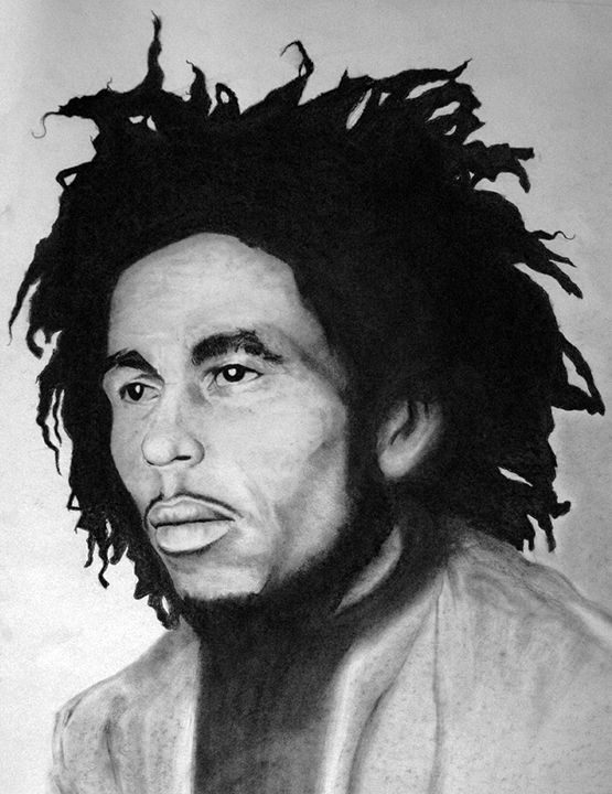 Young Bob Marley Tugg Gong - Fonck Art
